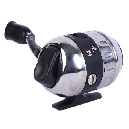 Fishing Reels for Slingshot Shooting Fish Use Dart Stainless Steel Closed Fishing Wheel +Fishing Wheel Seat Outdoor Hunting