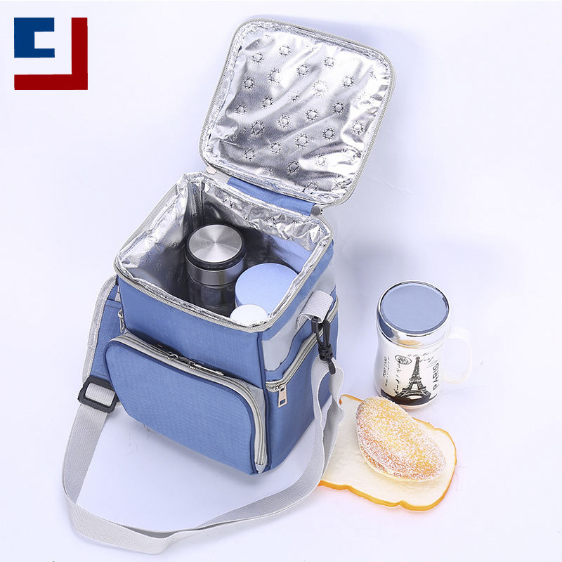 Lunch Insulated Lunch Bag Small Aluminum Foil Square Heat Preservation School Picnic Lunch Box Insulated Cooler Bag