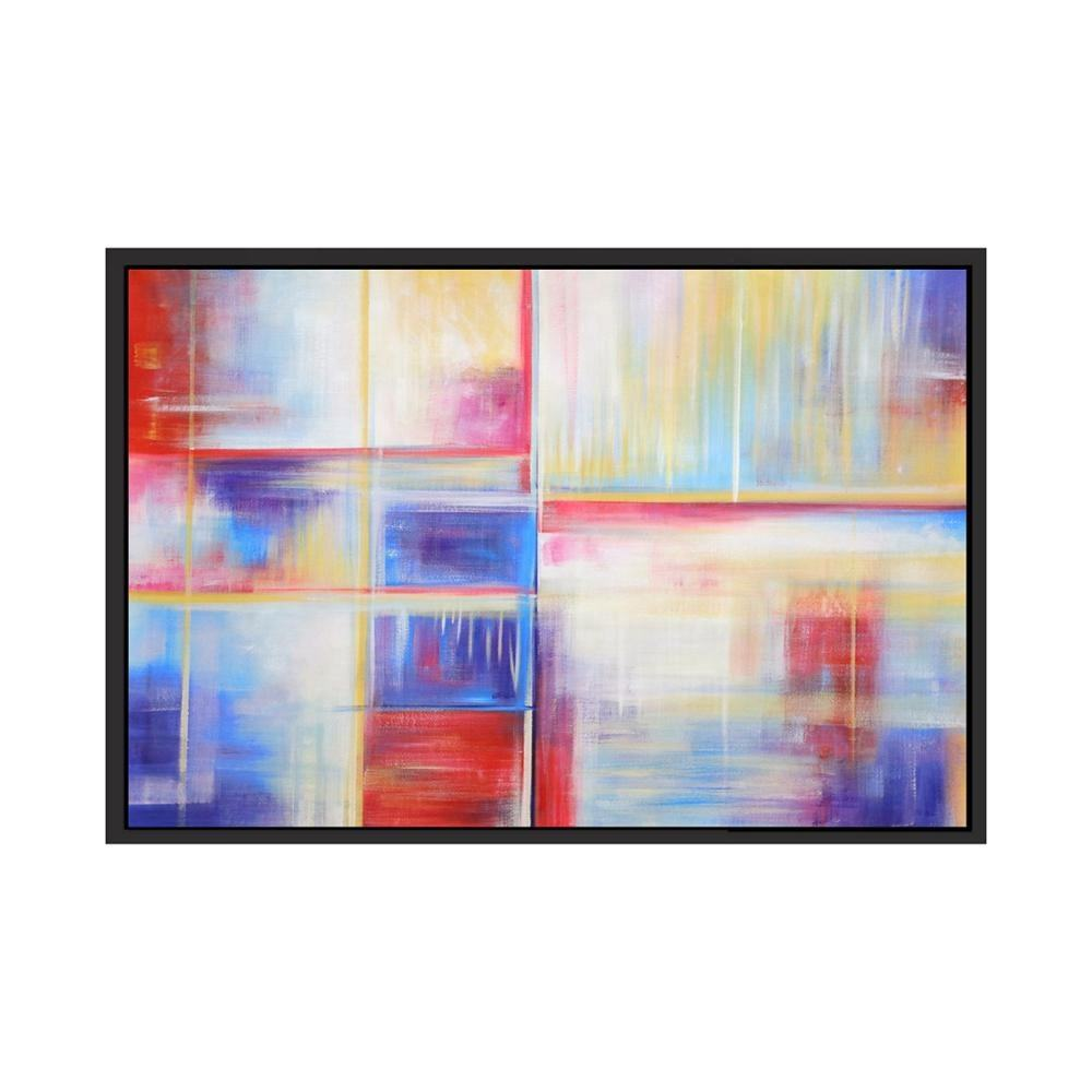 Contemporary Wall Art 100% Handmade Abstract Oil Painting on Canvas