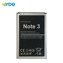 Replacement phone battery for samsung galaxy note 3 battery n9000 b800bu