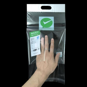 Resealable Self-adhesive PP Bag Plastic Clear Cellophane Bags for vegetables Packaging Bag Pouch