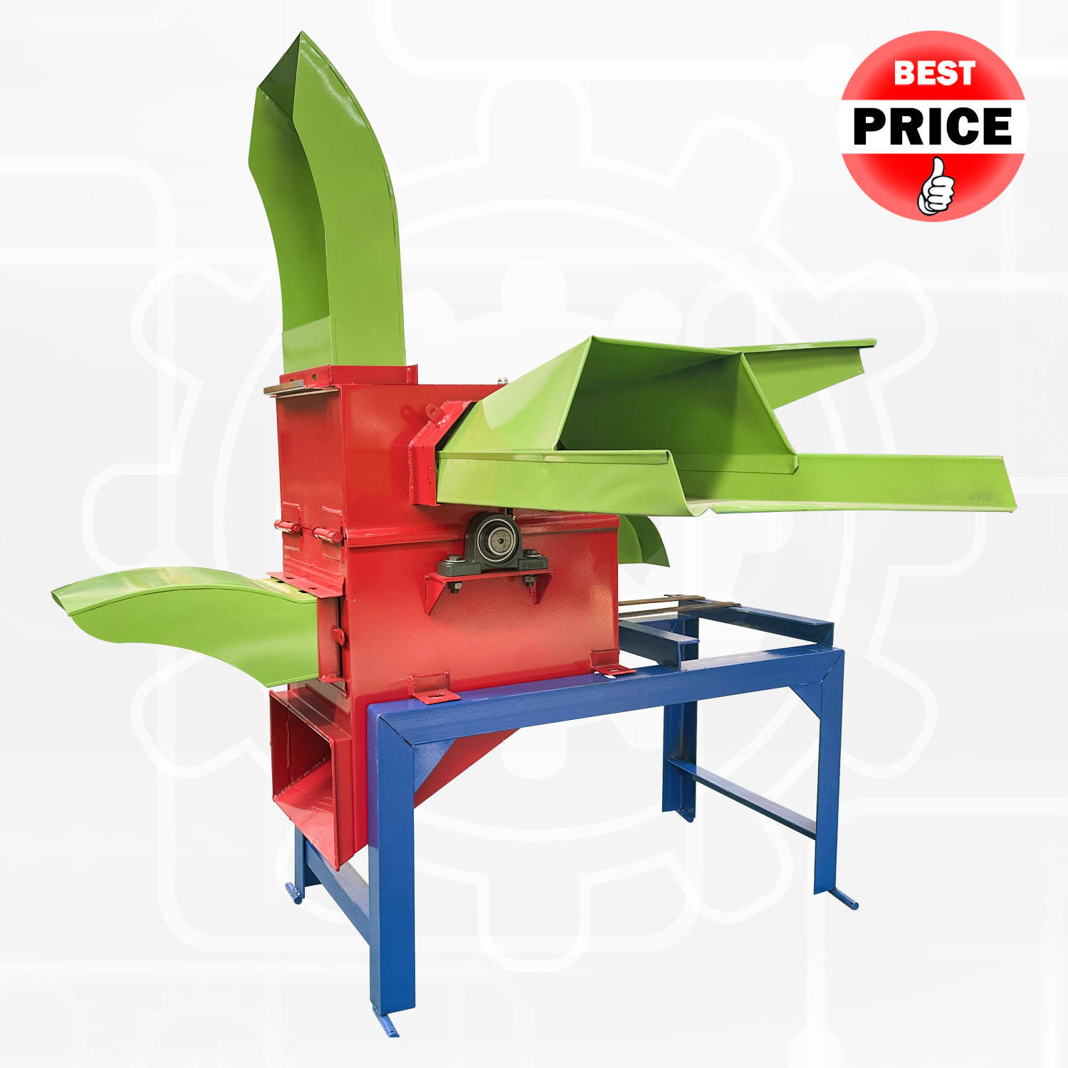 Animal Feed Corn Silage Grass Agricultural Mini Hay Chaff Cutting Machine Of Chaff Cutter Machine Price List In Kenya and India