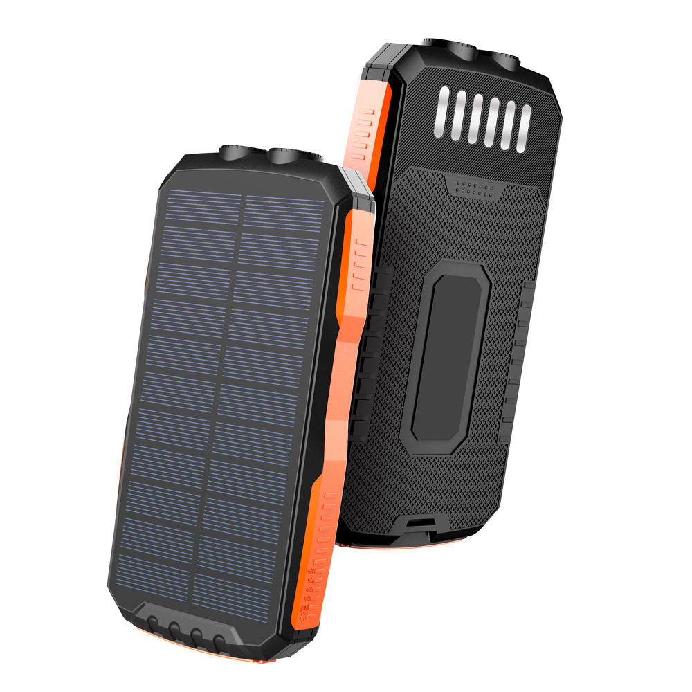 2020 New Arrival Solar Charger Power Bank Portable Solar Charger IPX5 Waterproof Outdoor Travel 25000mAh Solar Power Bank
