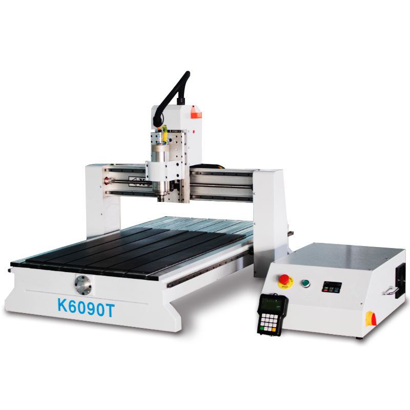 High precision pcb aluminum wood portable mini machine 3d advertising 6090 CNC router for guitar making