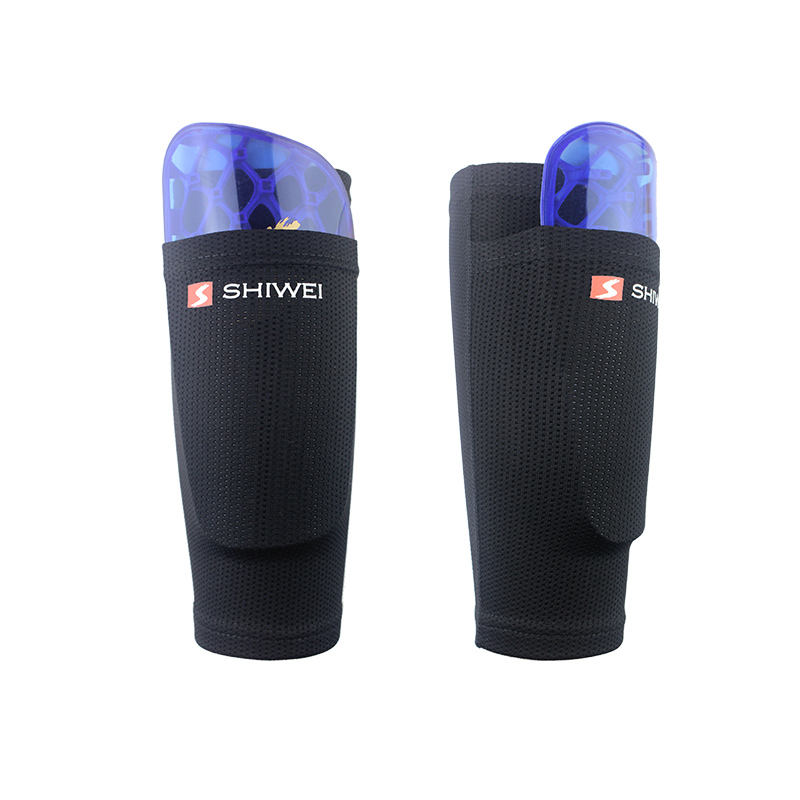 Ks-6002# CE Approved Warm Shin Pads Football Socks Wholesale Calf sleeves