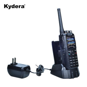 Repeater function handheld dual band DMR VHF UHF radio DR-880UV walkie talkie 20km gama with GPS wireless tour guide system