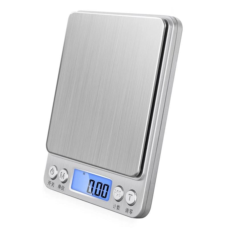 2kg lcd small smart food digital weight machine scales scale 0.01g