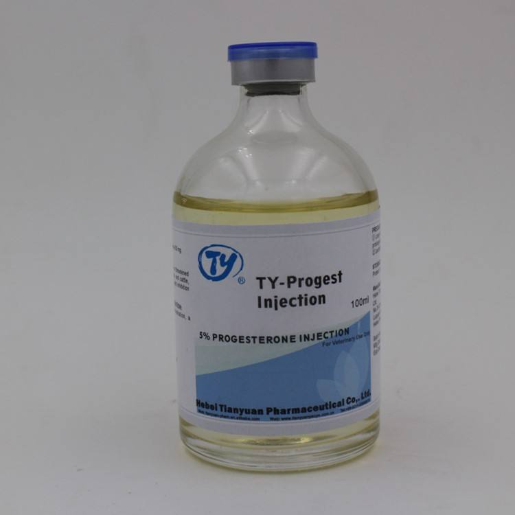 pig breeding drugs Progesterone veterinary 5% Progesterone injections during pregnancy