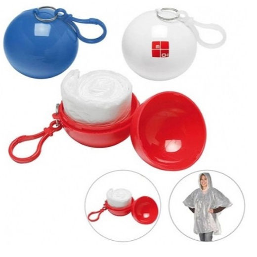 Cheap Wholesales pe ball poncho rainponcho for promotion