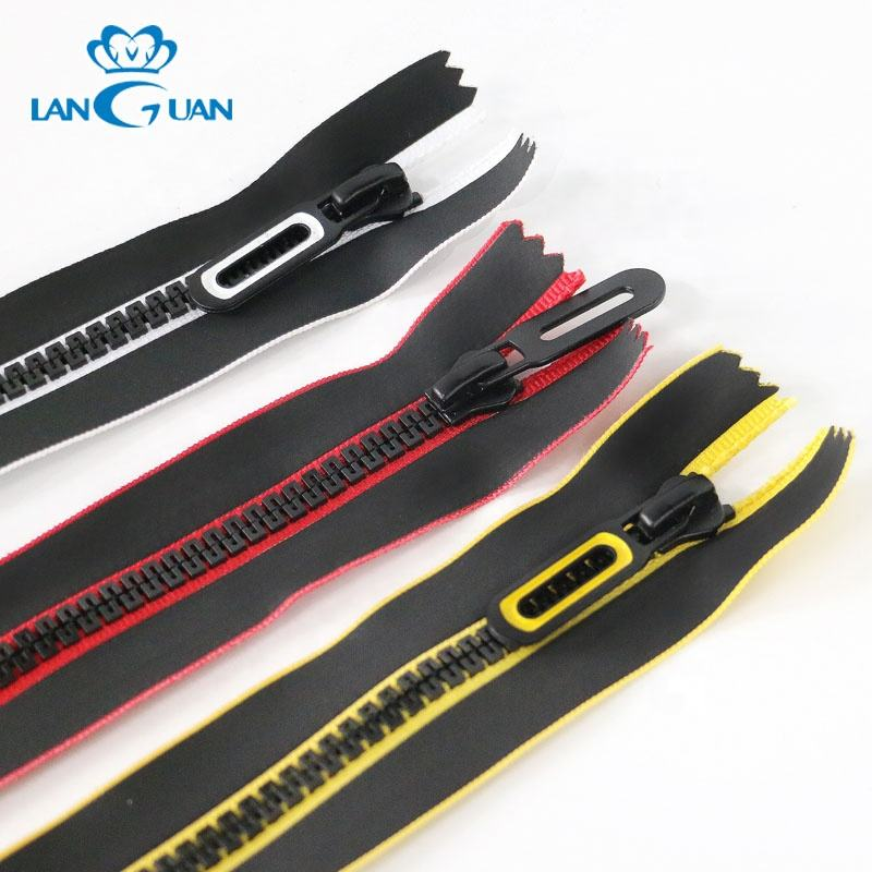 Great Wall teeth plastic close end zipper with waterproof tape