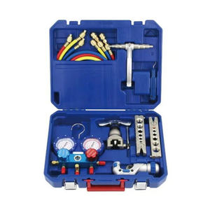 China factory HVAC/R tube cutter set Manifold gauge Refrigeration tool kits flaring tools
