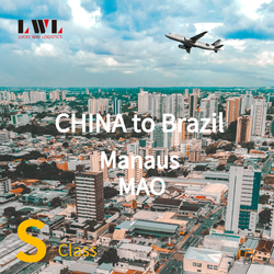 From China To Brazil Manaus MAO Airport Dropship By Air Freight Shipping Forwarder