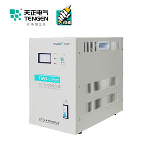 Tengen AC 3kva 10KVA 15KVA Single Phase Automatic Voltage Stabilizer untuk Dijual
