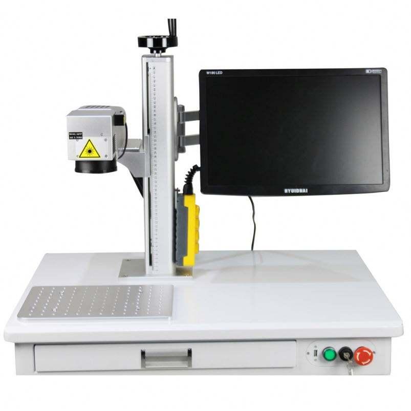 Fábrica de China de ventas industriales de grabado láser impresora del pantógrafo máquina de grabado láser
