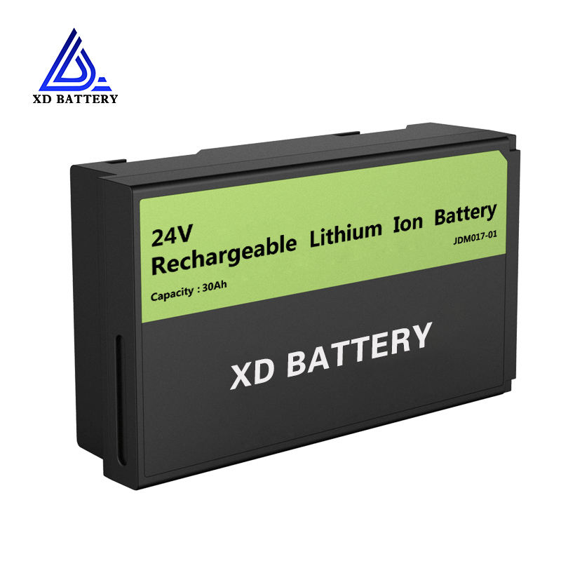 Promotion rechargeable lifepo4 24v 30ah 35ah lithium ion battery pack with bluetooth