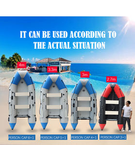 Customized inflatable rib boat