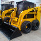 Skid Steer Chinese Skid Steer Loader Chinese Supplier Skid Loader 750kgs 850kgs 950kgs Skid Steer Loader Attachment