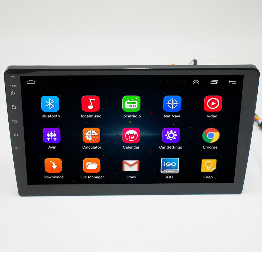 10 inch Android Auto Radio Multimedia Stereo Audio-Player GPS Navigator BT Doppel Din