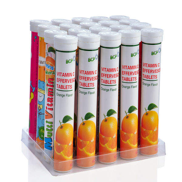 OEM energy drink Vitamin C effervescent tablet with stock