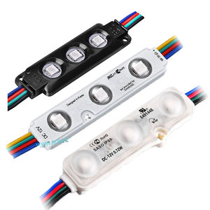 High Quality LED Injection module LED RGB lens module 0.72W for outdoor IP68