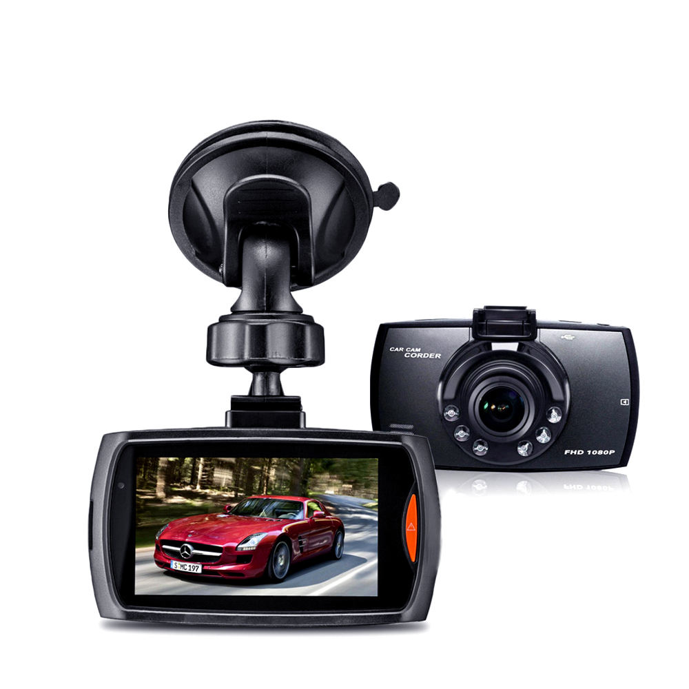 Cheapest Factory Direct supply 2.7 inch screen car black box camera G30 car dash cam HD 1080p rearview car DVR driving recorder