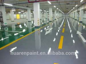 Coating Garage Concrete Cement Industrial Shop Professional 100 Solids Commercial Coatings Epoxy Self-Levelling Floor Paint