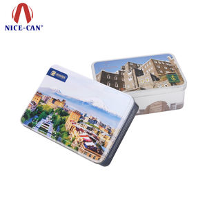 Tin Packing Manufacturer for Assorted Airtight Christmas Chocolate Biscuit Gift Tinned and Cookie Tins Packaging Box Metal