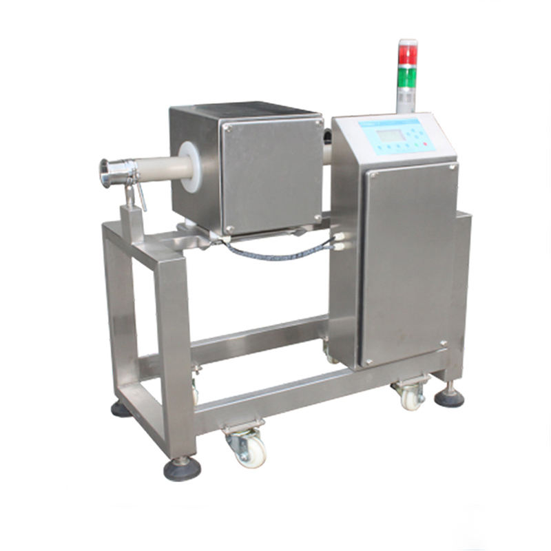 Industrial Pipeline Metal Detector for Food Liquid Sauce Oil Products