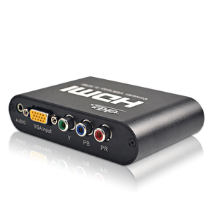 Factory converter VGA+YPbPr to HDMI converter with audio