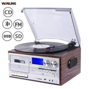 Altmodische phonographen andere home audio record player cd-player plus band recorder