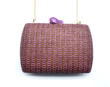 European and American popular woven bag shoulder bag straw bag for lady