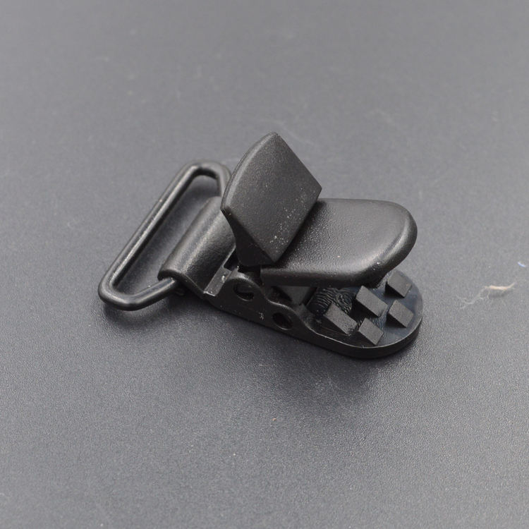 100% quality eco-friendly black plastic clothing clips, plastic memo clip, plastic alligator clips