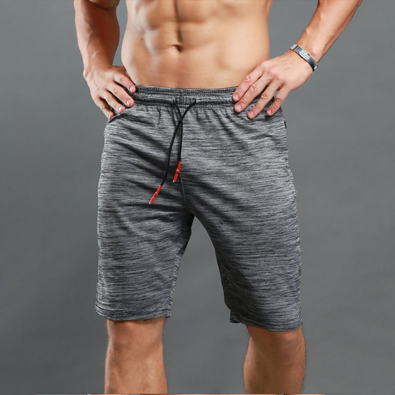 Dry Fit Wicking Bodybuilding Sport Short Pants For Men Active Wear Workout Gym Plus Size Jogger Shorts With Pockets