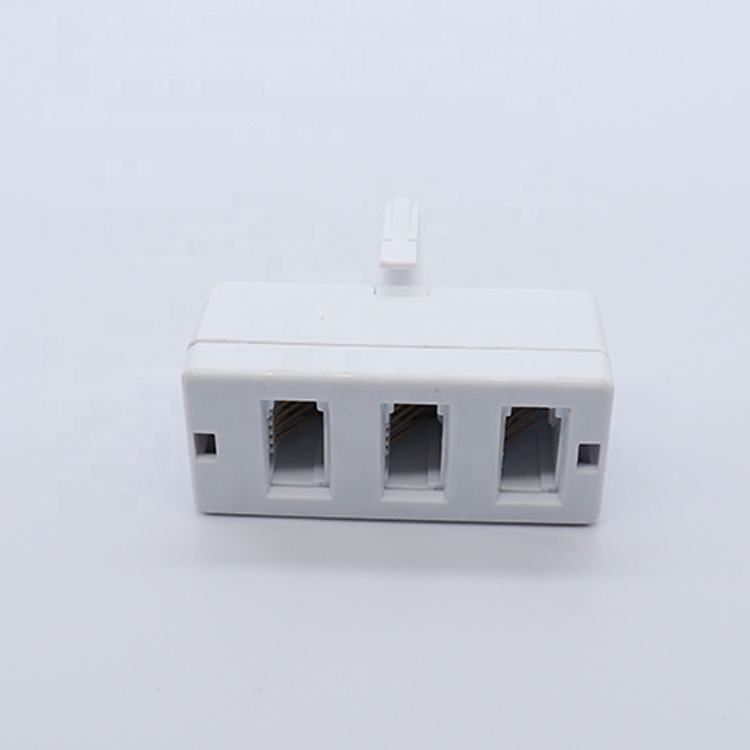 Made in China Network ADSL RJ11 Telephone Voice Modem Splitter