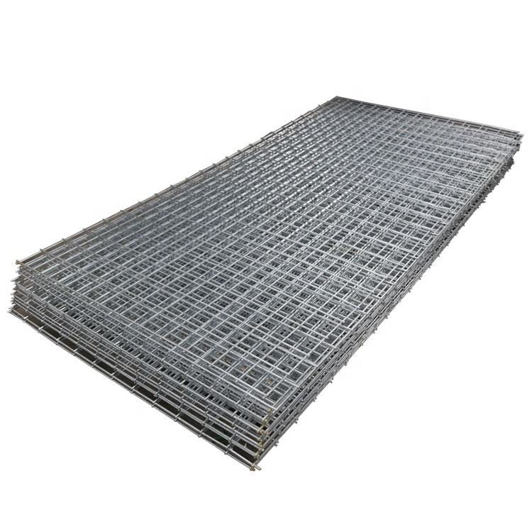 Pressured forged welded galvanized steel grate square twisted cross bar