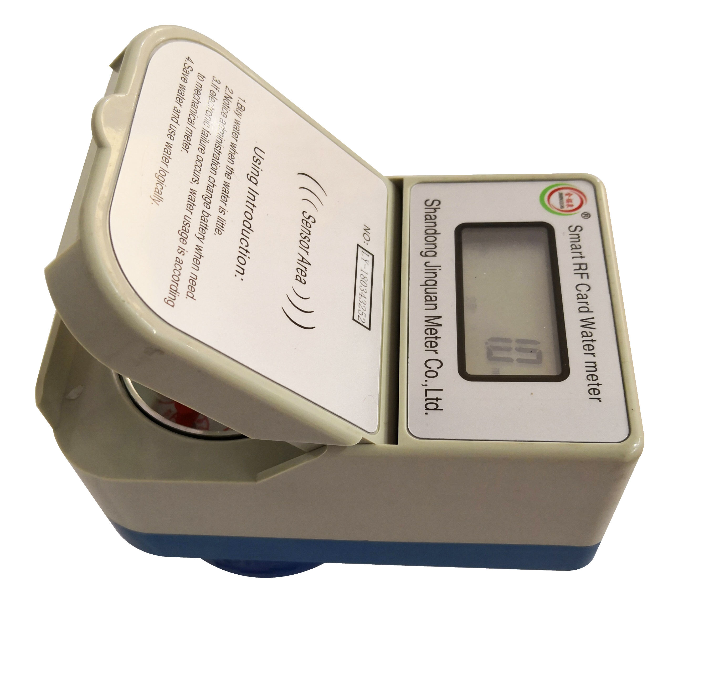 Smart IC card prepaid water meter with free vending software