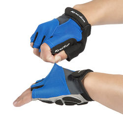 outdoor wholesale Sports cycling half finger shockproof gloves bicycle equipment fitness gloves