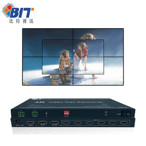 hdmi splitter 1x6 | Controlador de pared de vídeo 1x6, 2x6, 3x6, 4K, HDMI, TV, vídeo, conmutador, divisor