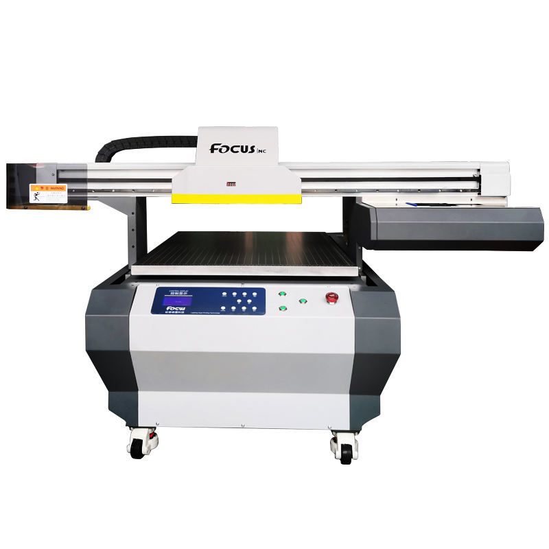 Galaxy Jet uv crystal printing machine flatbed uv a1 high quality 3 heads uv printer