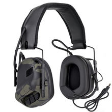 WoSporT Tactical Headphone Sound Pickup Noise Reduction Headset for Walkie Talkie Outdoor Shooting Hunting Airsoft Paintball