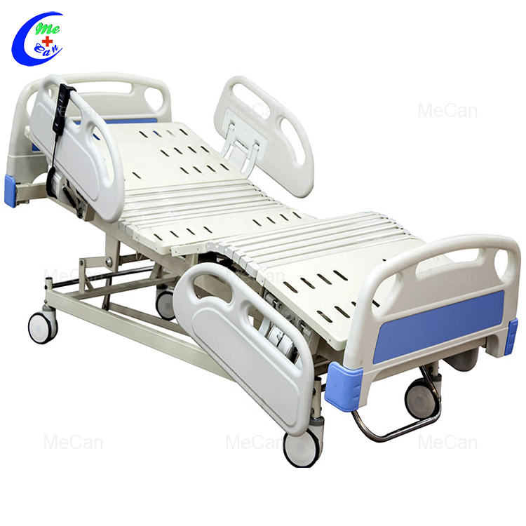 Medical Furniture and Equipment Medical Metal 5 Function Electric Hospital Bed