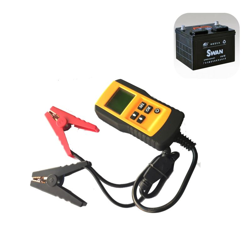 Allplace 12V Automotive Power Digital Auto Charging Starting System Meter Battery Tester