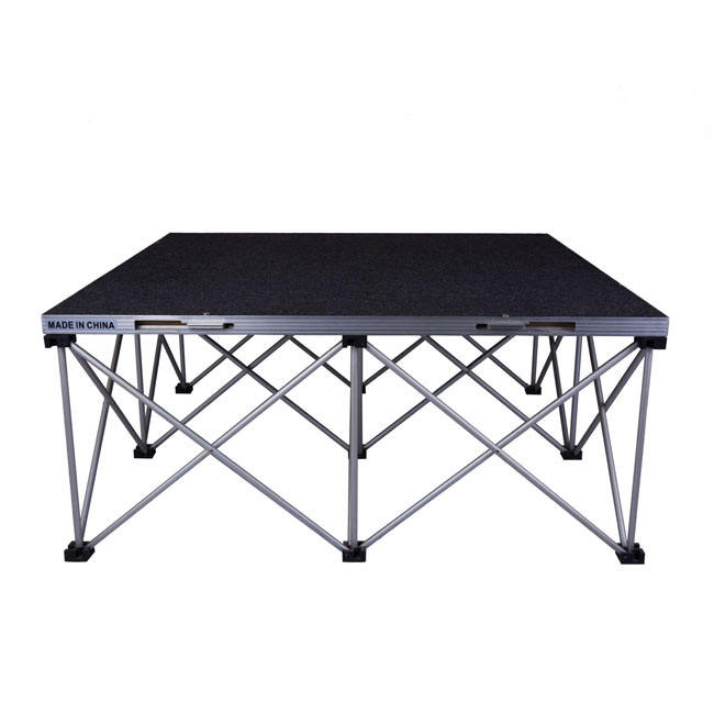 Sgaier Made Cheap Cost 2020 Various Types Portable Folding Stage for Event Scene