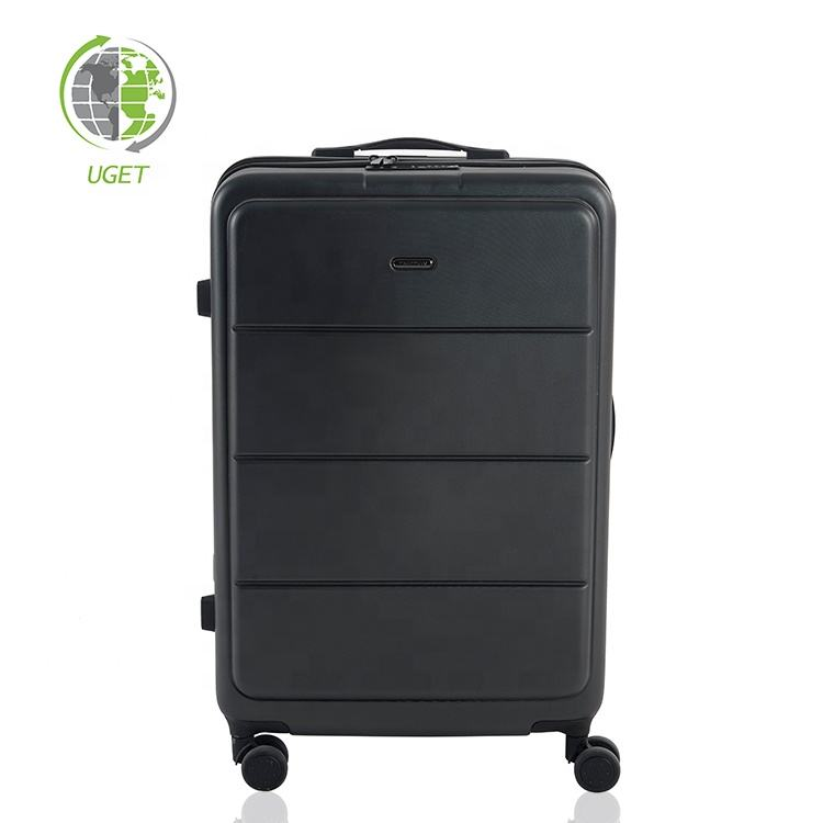 Free Sample Trolley Travel New Model 4 Wheel Leader Bubble Luggage Bag