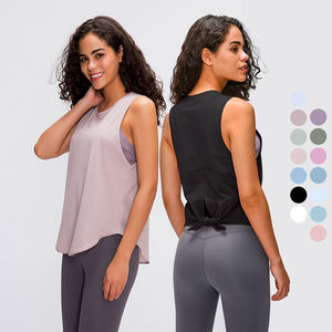 Seamless Yoga Wear Gym Singlets Quick Dry Workout Tank Top Women