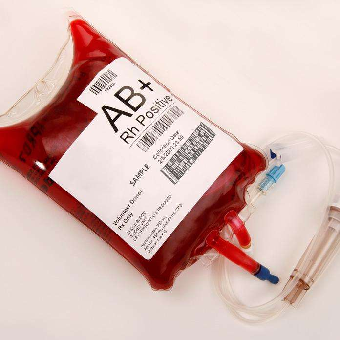 Blood Transfusion Bag Tag Label Stickers for Emergency department