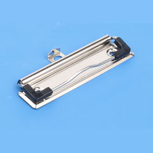 100mm 120mm stationery metal board clips with plastic corner for clipboard