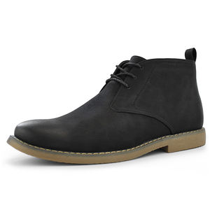 Mens Casual Formal Casual chukka Boot Pull Up Stiefeletten lace up schuhe