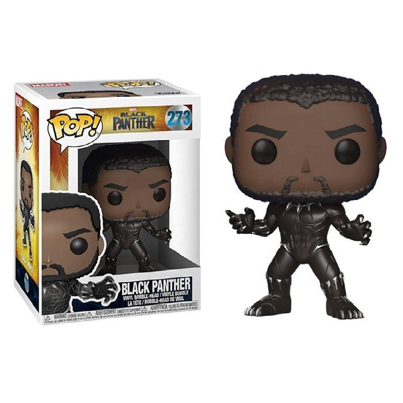 FUNKO POP Black panther kids toys Action Figure Anime Model Pvc Collection Toys for Children Gift 273 Action Figures