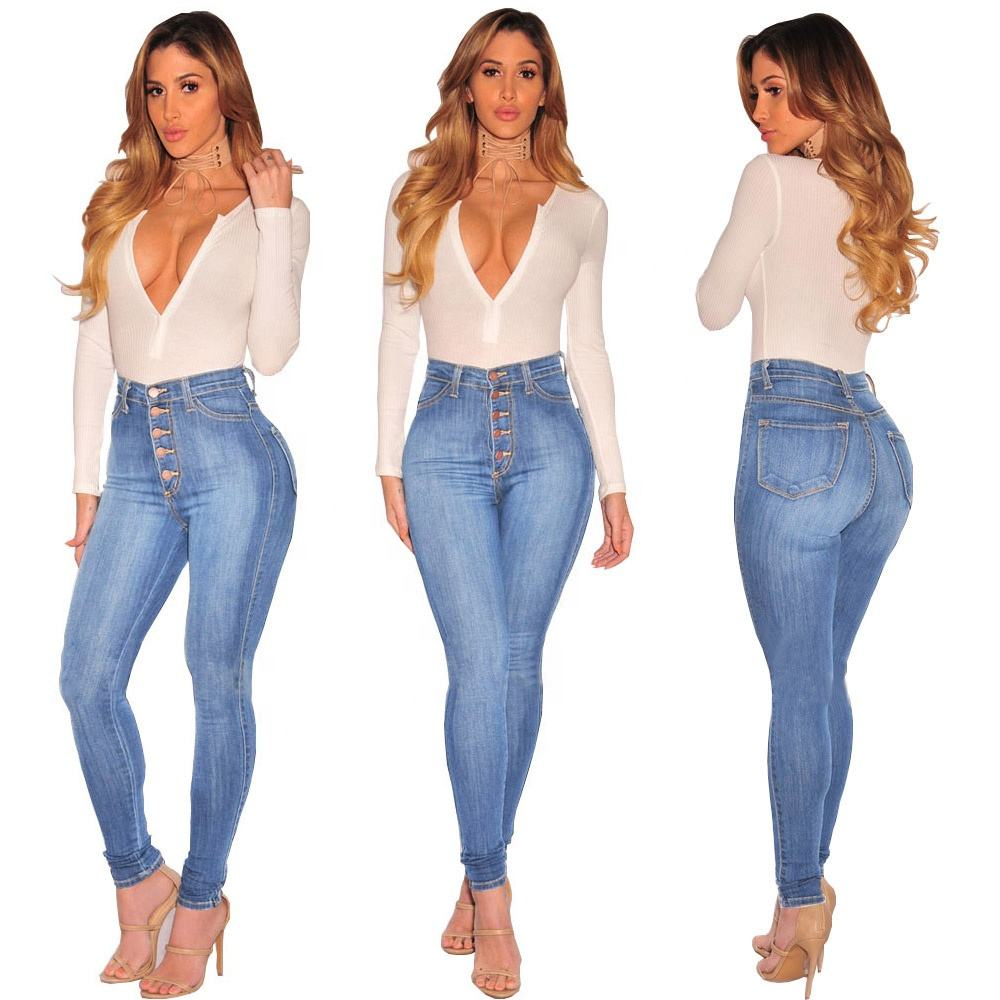 Accept OEM AND ODM Camo Print Skinny Jeans,Ladies Jeans Manufacturers